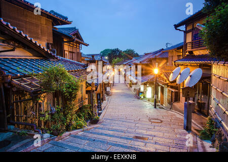 Kyoto Back street - Stock Photo
