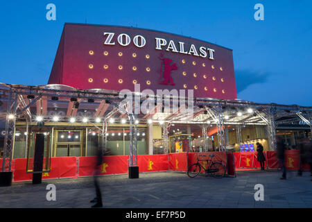 Zoo Palast, Berlinale, Berlin, Germany - Stock Photo