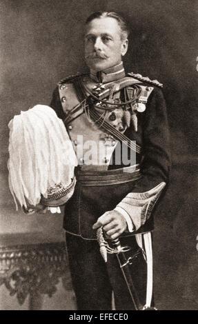 Field Marshal Douglas Haig, 1st Earl Haig, 1861 –1928. British senior officer during World War I. - Stock Photo