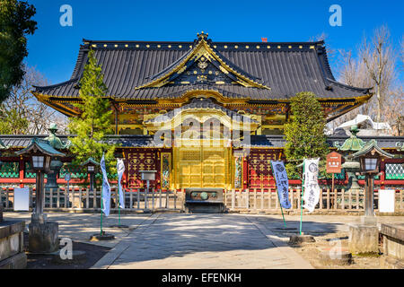 Toshogu Shrine in Ueno Park in Tokyo, Japan. - Stock Photo