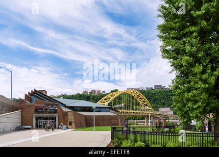 The Fort Pitt Museum, Point State Park, Pittsburgh, Pennsylvania, USA - Stock Photo