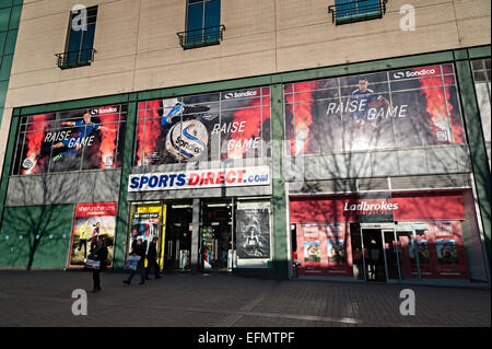 Sports direct sports clothing retailer Birmingham - Stock Photo