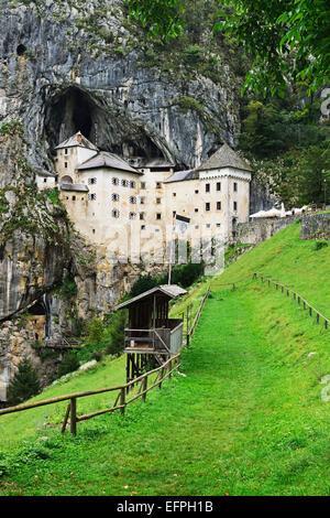 Predjama Castle (Predjamski grad), Predjama, Slovenia, Europe - Stock Photo