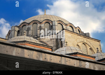 Rustem Pasha Mosque, architect Sinan (1561), Istanbul, Turkey - Stock Photo