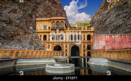 The Galtaji, Monkey Temple, Jaipur. - Stock Photo
