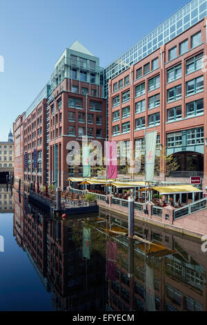 Bleichenhof, office and commercial building, Hamburg, Germany - Stock Photo
