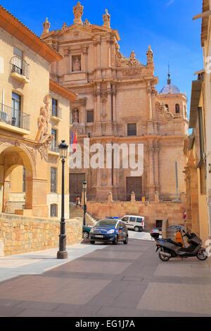 Colegiata de San Patricio church, Lorca, Murcia, Spain - Stock Photo