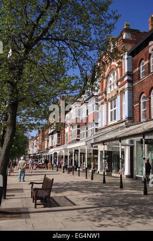 Lord Street / Southport / Merseyside / UK - Stock Photo