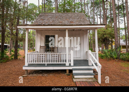 Boyer Cottage in the Pinellas County Heritage Village, Florida - Stock Photo