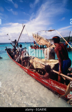 Kitava Island, Trobiand Islands, Papua New Guinea - Stock Photo
