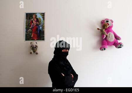 Kabul. Hawca safe shelter for women who are victims of domestic violence - Stock Photo