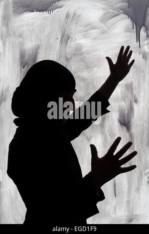Kabul. Hawca safe shelter for women. - Stock Photo