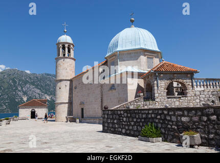 Roman Catholic Church of Our Lady of the Rocks - Stock Photo
