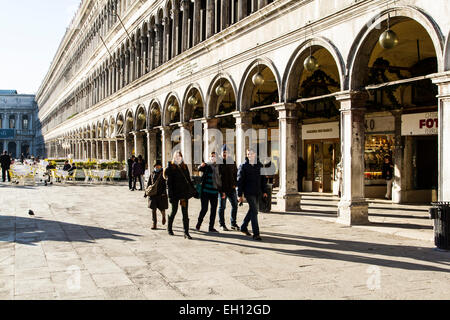 Saint Mark Square (Piazza San Marco) and Doge's Palace (Palazzo Ducale). Venice, Province of Venice, Italy. - Stock Photo