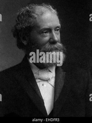 AJAXNETPHOTO. - 1900S. SOUTHAMPTON, ENGLAND. -SIR JOHN ISAAC THORNYCROFT (1843_1928), FOUNDER OF THORNYCROFT SHIPBUILDING - Stock Photo