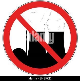 gegen Atomkraft - Stock Photo