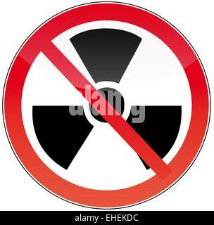 against nuclear power - Stock Photo