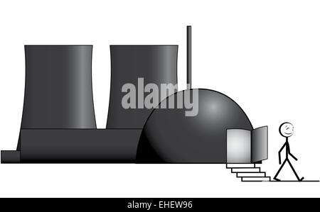 nuclear phase-out - Stock Photo