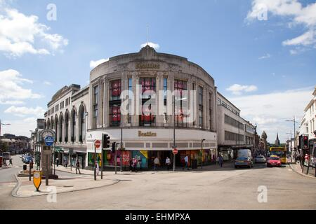 Shopping in Wolverhampton City Centre, Beatties department store - Stock Photo