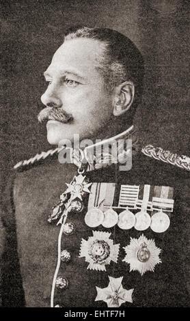 Field Marshal Douglas Haig, 1st Earl Haig, 1861 – 1928. British senior officer during World War I. - Stock Photo