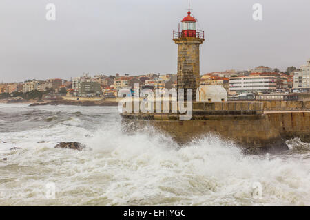 ILLUSTRATION OF THE CITY OF PORTO, PORTUGAL - Stock Photo
