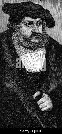 Frederick III of Saxony (1463 – 1525), also known as Frederick the Wise (German 'Friedrich der Weise') - Stock Photo