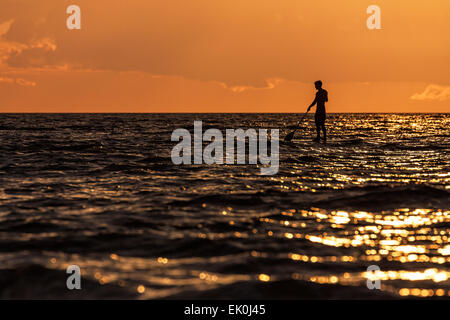 On shore of the Baltic Sea in Germany - Stock Photo