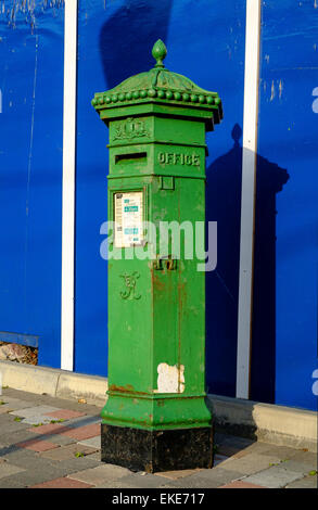 irish postbox Photo by Peter Cavanagh [Must Credit] - Stock Photo