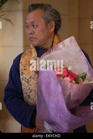 Beijing, China. 14th Apr, 2015. South Korean Director Kim Ki-duk, also jury of the 5th Beijing International Film - Stock Photo