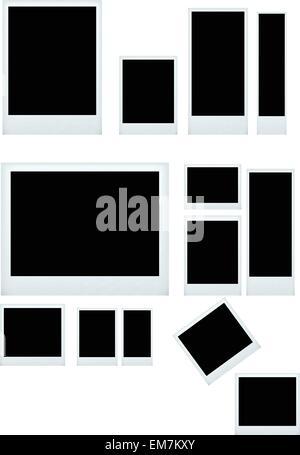 photo frame set - Stock Photo