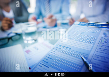 Application Form Job Interview Employment Concept - Stock Photo