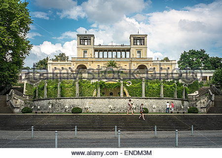 The Sanssouci Palace in Potsdam, Germany - Stock Photo