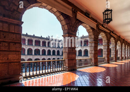 National Palace in Mexico City, Mexico - Stock Photo