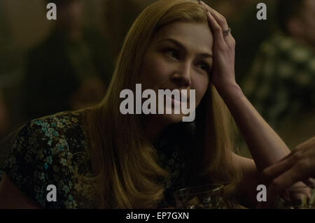 Gone Girl is a 2014 American psychological thriller film directed by David Fincher and adapted by Gillian Flynn - Stock Photo