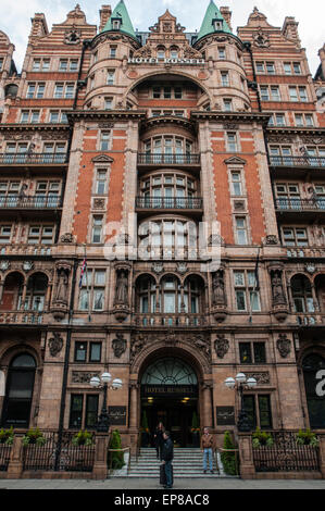 The former Russell Hotel on Russell Square, Bloomsbury, London, subsequently refurbished and reopened in 2018 as - Stock Photo