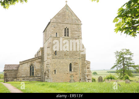 The church of St Michael and All Angels, dating mainly from the thirteenth century (with parts from saxon times), - Stock Photo