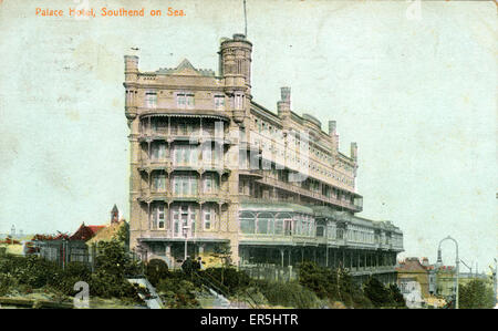 The Palace Hotel, Southend-on-Sea, Essex, England.  1908 - Stock Photo