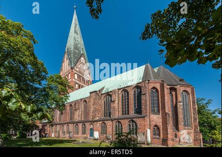 Church St. Johannis in Lueneburg, Niedersachsen, Germany - Stock Photo