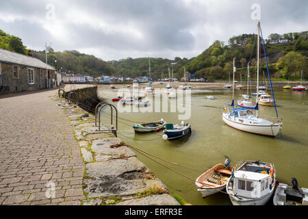 Fishguard a coastal town in Pembrokeshire, south west Wales UK Europe - Stock Photo