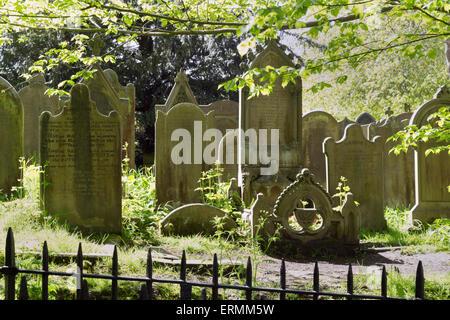 Haworth in West Yorkshire, UK. - Stock Photo