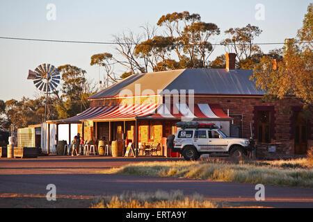 Prairie Hotel in Parachilna. Flinders Ranges, South Australia. - Stock Photo