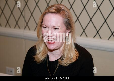 Press junket for Broadway play Living On Love held at the Empire Hotel.  Featuring: Kathleen Marshall Where: New - Stock Photo