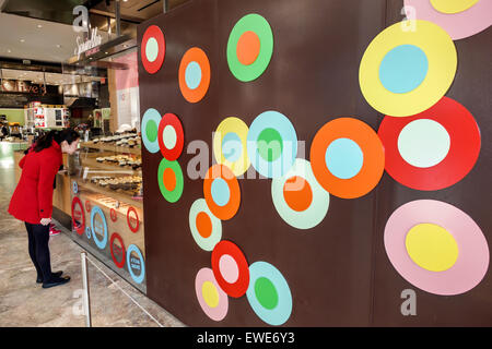 New York City NY NYC Manhattan Lower Battery Park City Brookfield Place shopping center centre inside Cupcake Madness - Stock Photo