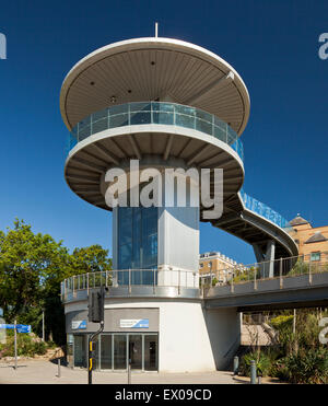 Pier Hill lift, Southend on Sea. - Stock Photo