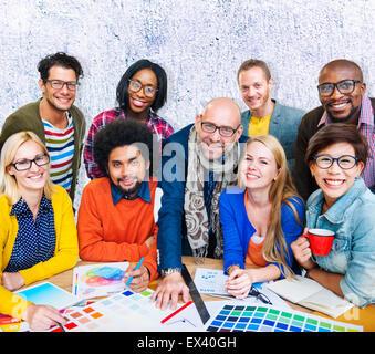 Meeting Corporate Connection Designer Creativity Concept - Stock Photo