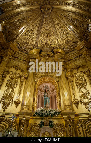 Chapel of the Rosary, Lorca, Region of Murcia, Spain, Europe - Stock Photo
