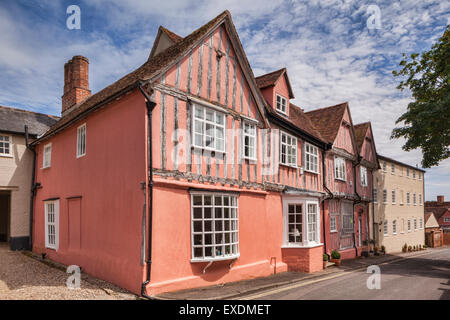 The Old Grammar School, Lavenham, which John Constable briefly attended, Lavenham, Suffolk, England - Stock Photo