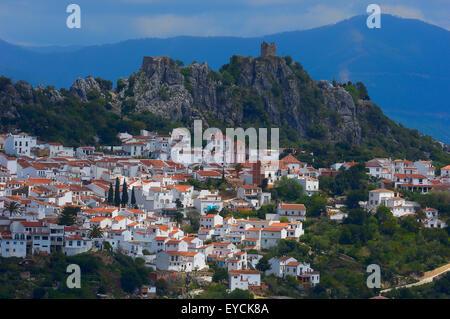 Gaucin, Sierra Bermeja, Serrania de Ronda. Malaga province, Andalusia. Spain. - Stock Photo