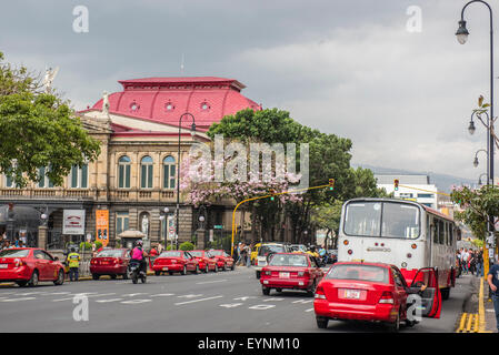 The National Theatre, San Jose, Costa Rica - Stock Photo