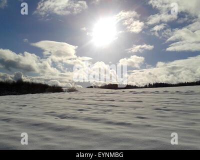 Winterlandschaft, taunus - Stock Photo